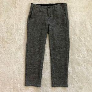 Rag & Bone Houndstooth Pajama Jeans Hemmed Wool 28
